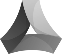 thinkshore media black and white icon