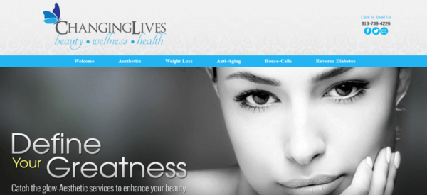 kansas city website design example pic